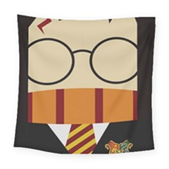 Harry Potter Cartoon Square Tapestry (large) by Samandel