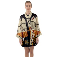 Harry Potter Cartoon Long Sleeve Kimono Robe by Samandel