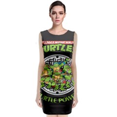 Teenage Mutant Ninja Turtles Hero Classic Sleeveless Midi Dress