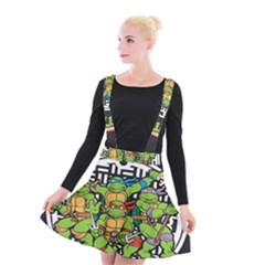 Teenage Mutant Ninja Turtles Hero Suspender Skater Skirt