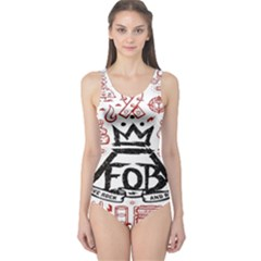 Save Rock And Roll Fob Fall Out Boy One Piece Swimsuit