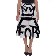 Save Rock And Roll Fob Fall Out Boy Perfect Length Midi Skirt