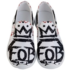 Save Rock And Roll Fob Fall Out Boy Men s Lightweight Slip Ons by Samandel