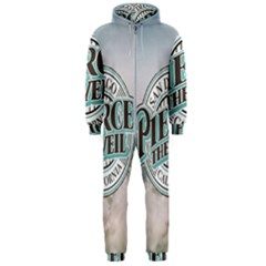 Pierce The Veil San Diego California Hooded Jumpsuit (men)  by Samandel
