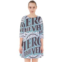 Pierce The Veil San Diego California Smock Dress by Samandel