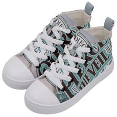 Pierce The Veil San Diego California Kid s Mid Top Canvas Sneakers by Samandel