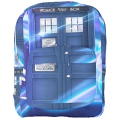 Tardis Space Full Print Backpack