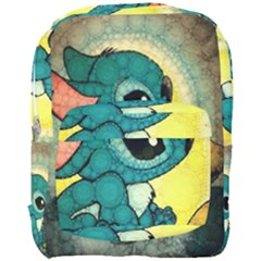 Stich And Turtle Full Print Backpack