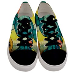Stich And Turtle Men s Low Top Canvas Sneakers