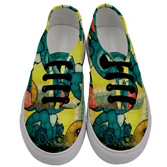 Stich And Turtle Men s Classic Low Top Sneakers