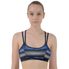 Comic Collection Book Line Them Up Sports Bra by Samandel