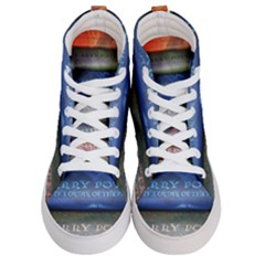 Comic Collection Book Men s Hi Top Skate Sneakers