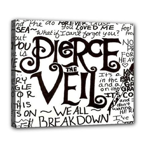 Pierce The Veil Deluxe Canvas 24  X 20   by Samandel