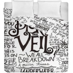 Pierce The Veil Duvet Cover Double Side (king Size) by Samandel