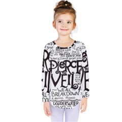 Pierce The Veil Kids  Long Sleeve Tee