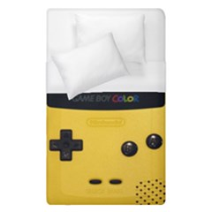 Game Boy Color Yellow Duvet Cover (single Size) by Samandel