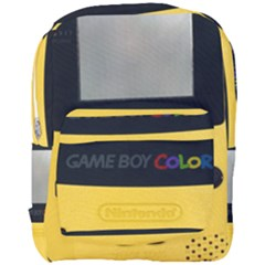 Game Boy Color Yellow Full Print Backpack
