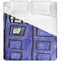 Tardis Painting Duvet Cover (king Size)
