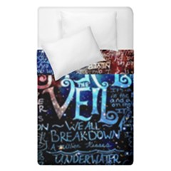 Pierce The Veil Quote Galaxy Nebula Duvet Cover Double Side (single Size)