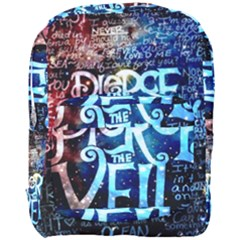 Pierce The Veil Quote Galaxy Nebula Full Print Backpack