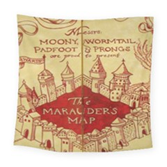 Marauders Map Square Tapestry (large)