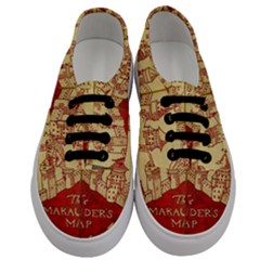 Marauders Map Men s Classic Low Top Sneakers
