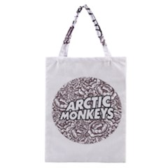 Artic Monkeys Flower Circle Classic Tote Bag by Samandel