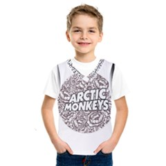 Artic Monkeys Flower Circle Kids  Sportswear by Samandel