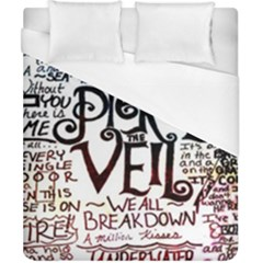 Pierce The Veil Galaxy Duvet Cover (california King Size)