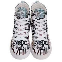 Pierce The Veil Galaxy Men s Hi Top Skate Sneakers