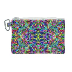 Colorful 17 Canvas Cosmetic Bag (large) by ArtworkByPatrick