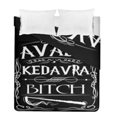Avada Kedavra Bitch Duvet Cover Double Side (full/ Double Size)
