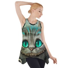 Cheshire Cat Side Drop Tank Tunic by Samandel