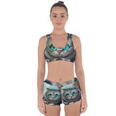 Cheshire Cat Racerback Boyleg Bikini Set