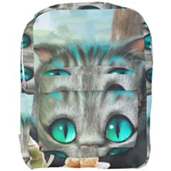 Cheshire Cat Full Print Backpack by Samandel