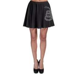 Gadsden Flag Don t Tread On Me Skater Skirt by snek