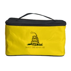 Gadsden Flag Don t Tread On Me Cosmetic Storage Case by snek