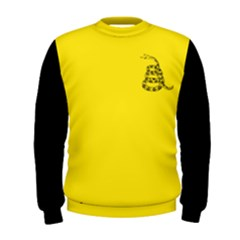 Gadsden Flag Don t Tread On Me Men s Sweatshirt by snek