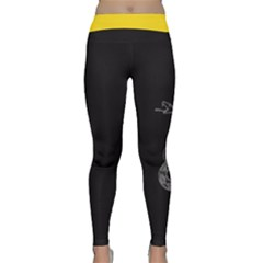 Gadsden Flag Don t Tread On Me Classic Yoga Leggings by MAGA