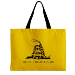 Gadsden Flag Don t Tread On Me Zipper Mini Tote Bag by MAGA
