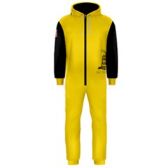 Gadsden Flag Don t Tread On Me Hooded Jumpsuit (men)  by snek