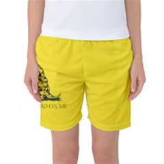 Gadsden Flag Don t Tread On Me Women s Basketball Shorts by snek