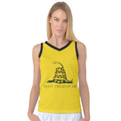 Gadsden Flag Don t Tread On Me Women s Basketball Tank Top by MAGA