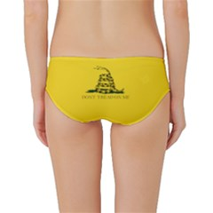 Gadsden Flag Don t Tread On Me Classic Bikini Bottoms by MAGA