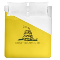 Gadsden Flag Don t Tread On Me Duvet Cover (queen Size) by snek
