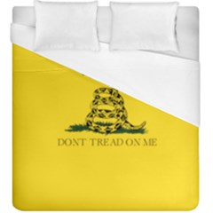 Gadsden Flag Don t Tread On Me Duvet Cover (king Size) by snek
