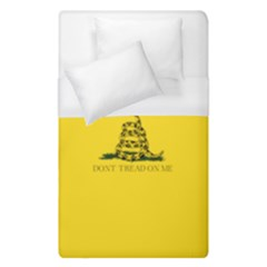 Gadsden Flag Don t Tread On Me Duvet Cover (single Size) by snek