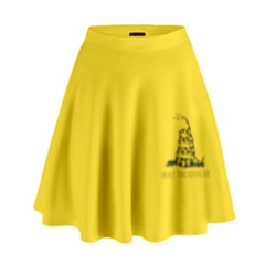 Gadsden Flag Don t Tread On Me High Waist Skirt by snek