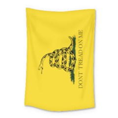 Gadsden Flag Don t Tread On Me Small Tapestry by MAGA