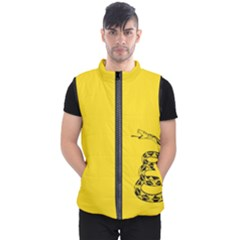Gadsden Flag Don t Tread On Me Men s Puffer Vest by snek